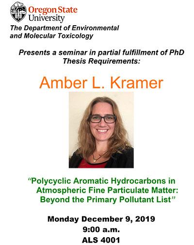 Amber Kramer Thesis Defense