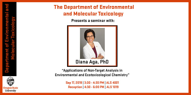 Diana Aga Seminar: Sept. 17th, 3:30Pm - 4:30PM