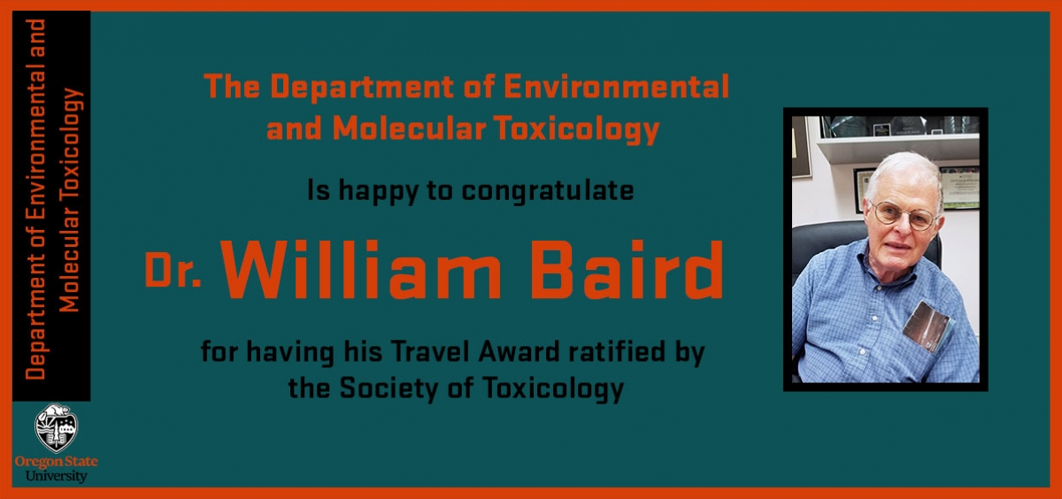 Dr. William Baird travel award