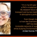 Amber Kramer, PhD Student