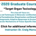 Dr. Craig Marcus Winter Seminar 2020