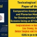 Toxicological Paper of the Year